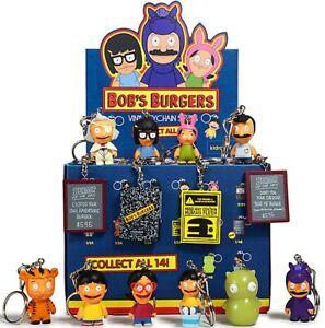 Porte-clés en vinyle Blind Box Mystis de Bob's Burgers de Bob's 24 paquets