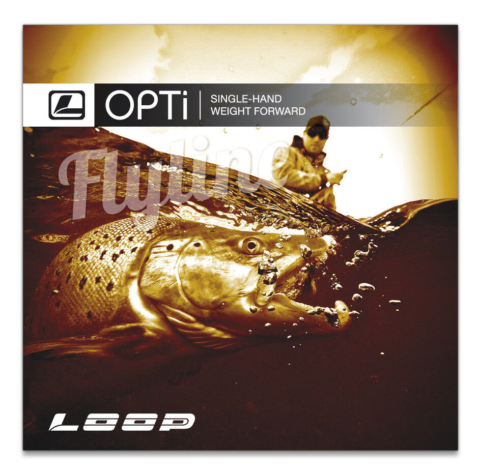 Loop Fliegenschnur Opti Bach Einzeln Hand Spey Line 4 Gewicht