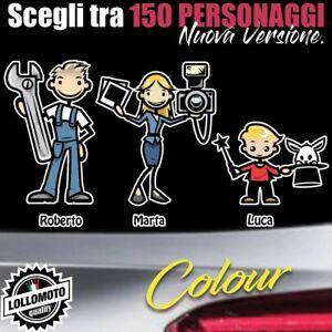 StickMan-2-0-Colorati-Adesivi-Famiglia-Auto-Stickers-Family-per-Mazda-Cx3-2-3-M