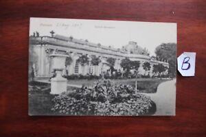 Carte Postale Berlin Potsdam Sanssouci-afficher Le Titre D'origine
