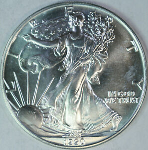 1990-American-Silver-Eagle-One-Troy-Ounce-999-Pure-UNC-a54