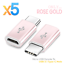 thumbnail 13 - 5X-Micro-USB-Female-to-USB-3-1-Type-C-Male-Converter-Data-Cable-OTG-Adapter
