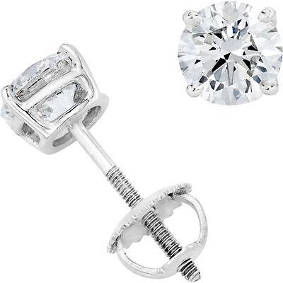 Original McPearl Solitär Diamant Ohrringe 1100. Ehem. Preis 3249,- EUR. 1,10 ct
