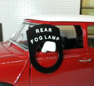 Toggle-Switch-Tab-Tag-Badge-Rear-Fog-Light-Austin-Healey-Frogeye-Bugeye-Sprite
