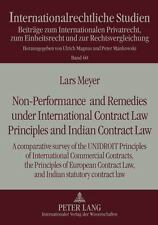 NON-PERFORMANCE AND REMEDIES UNDER INTERNATIONAL CONTRACT LAW PRINCIPLES AND IND