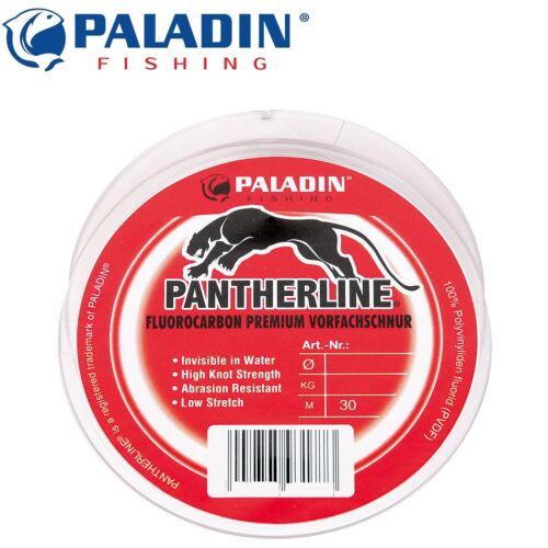 Paladin Fluorocarbon Schnur 30m 0,40mm 21kg 0,30€//1m Meeresvorfachschnur