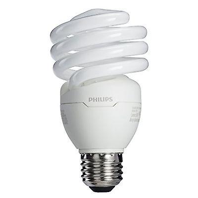 Philips 433557 23W 100-watt T2 Twister 6500K CFL Light Bulb 4-Pack