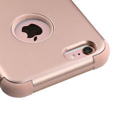 iPhone 6 / 6S - ROSE GOLD Hybrid Armor Hard&Soft Rubber High Impact Cover Case
