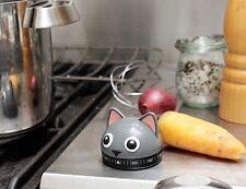 Kikkerland Kitty Kitchen Timer NEU/OVP Katze Küchentimer Kurzzeitmesser 60 Min