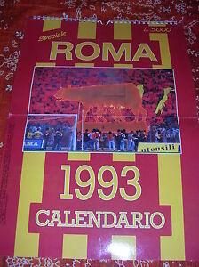 As Roma Calendario.Dettagli Su Speciale A S Roma Calendario 1993