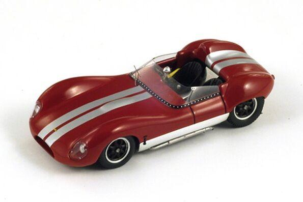 Lola MkI  rouge  1960 (Spark 1 43   S1128)