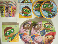 Super Why ? - Birthday Party Supplies Super Deluxe Kit W/ Invitations