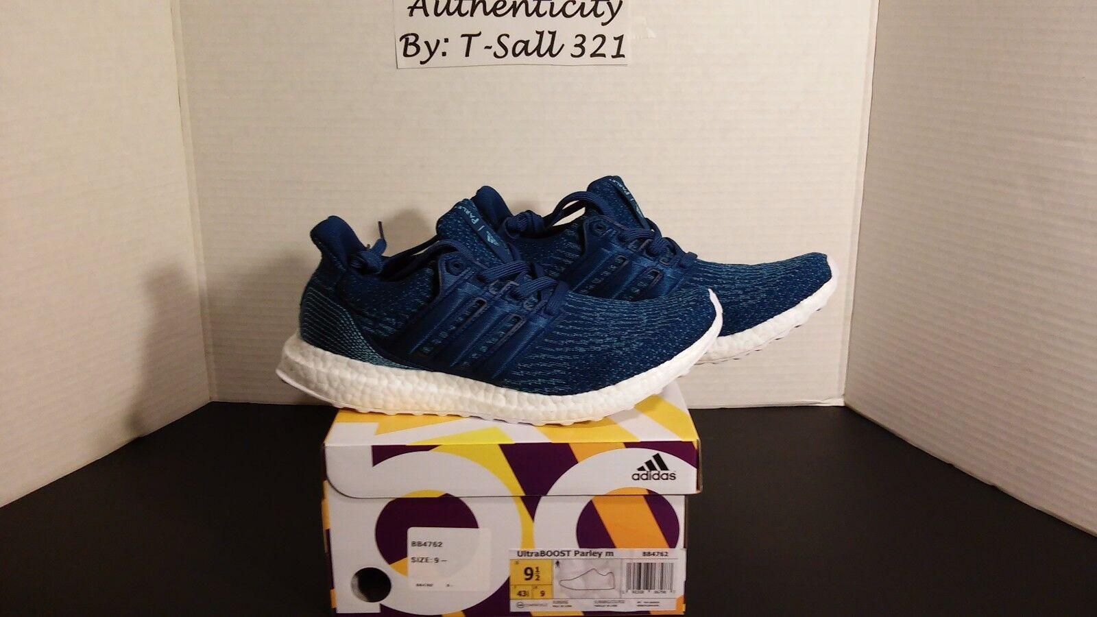 Adidas Ultra Boost 3.0 x Parley Ocean Intense Blue BB4762  New Men's DS size 9.5