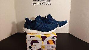 9c3e47529e878 Adidas Ultra Boost 3.0 x Parley Ocean Intense Blue BB4762 New Men s ...