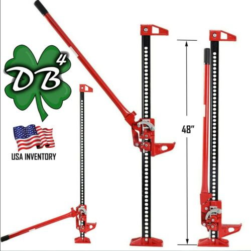 """48/"""" High Lift Farm Off-Road Recovery Bumper Jack 3.5 Tons 7,000 lbs 48 Inches"""