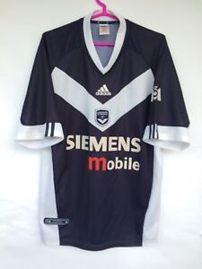 recognized brands how to buy the best attitude Details about GIRONDINS DE BORDEAUX 2001 2003 ADIDAS HOME FOOTBALL SOCCER  SHIRT JERSEY