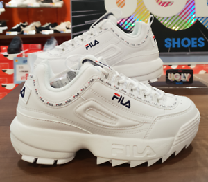Details about New FILA Disruptor ii 2 Tapey Tape White Limited Edition  FS1HTB1091X All Size