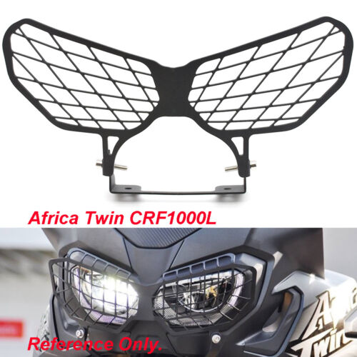 Stainless Steel Headlight Guard Kit For Honda Africa Twin //ABS CRF1000L 16 17 18