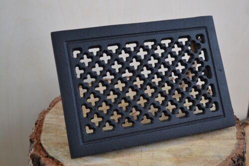 22,5 x 15,5 cm Cast iron AIR RETURN GRILLES Vintage Victorian Cover MIX  DZ070
