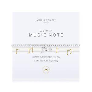 Joma Jewellery Music Note bracelet eKgrztJd