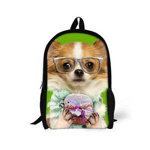0e0f6d6582 Image is loading Cute-School-Bag-Girls-Animal-Backpacks-Fashion-Bookbag-