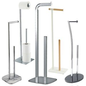 Free Standing Toilet Roll Spare Paper Holders Toilet Butlers By Showerdrape Ebay