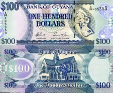 GUYANA 50 Dollars Banknote World Paper Money Currency Commemorative p41a 2015