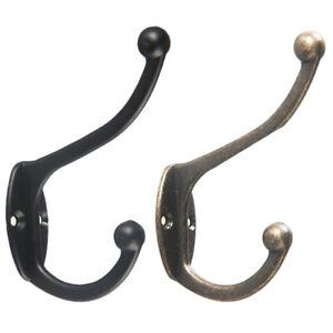 Antique-Brass-Wall-Mounted-Hook-Key-Holder-Letter-Rack-Hanger-Hanging-Decor