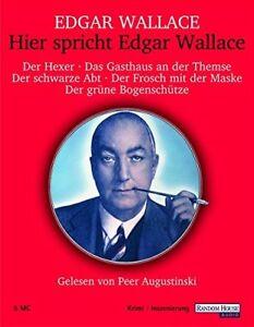 Hier-spricht-Edgar-Wallace-Kassette-Neu-New