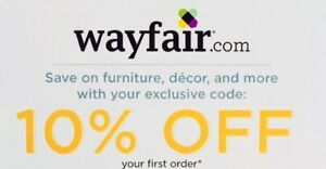 f4ea2bf1d6c ➡ FAST CODE! WAYFAIR —10% OFF First Order—wayfair.com—Exp. 6/30 ...