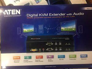 Aten Digital KVM Extender with Audio CE790