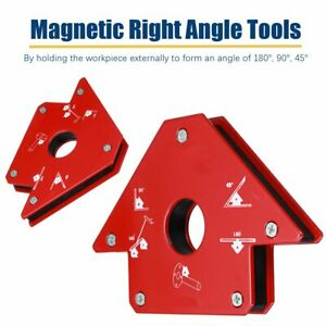 Right-Angle-Electric-Welding-Clamp-Strong-Magnetic-Corner-Metal-Frame-Tools-AA