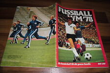 SONDERHEFT:  FUSSBALL WM 78 / 1978 in ARGENTINIEN / ARGENTINA