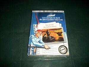 edition-2-DVD-les-carnets-de-bord-du-commandant-cousteau-neuf
