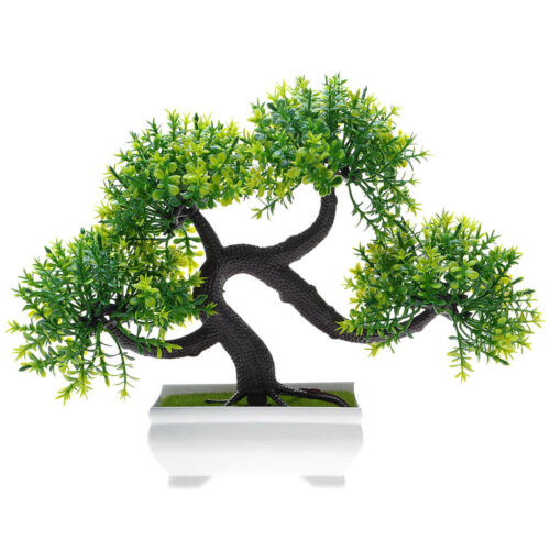 Künstlicher Buchs Bonsai Kunstbonsai Bonsai-Baum Kunstpflanze asiatische Dekor