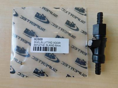 Schnellverschluss Benzinschlauch 6mm Kupplung Schelle f/ür Roller//Moped