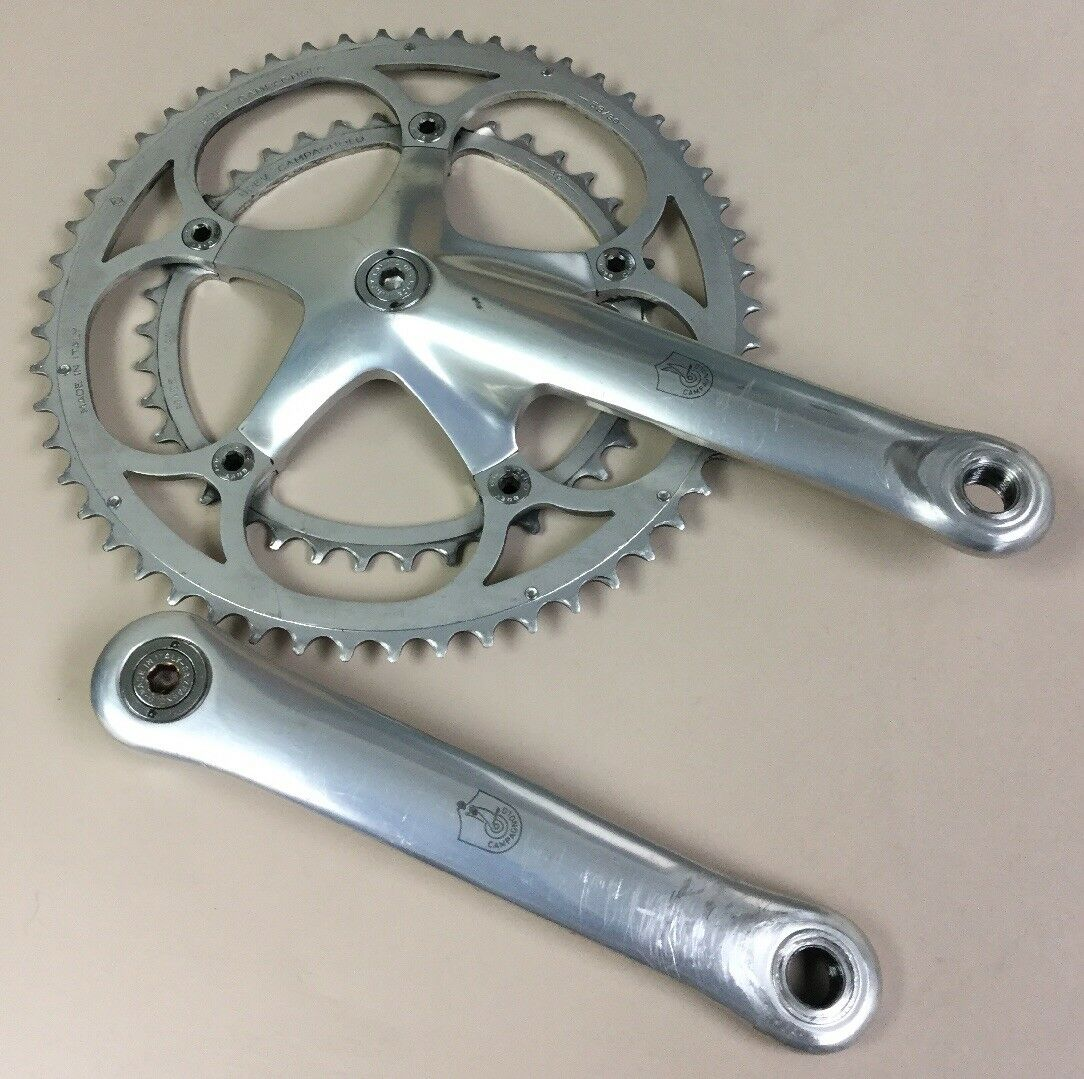CAMPAGNOLO CRANKSET DOUBLE 175 MM 53-39T SQUARE TAPER EXTRACTOR BOLTS