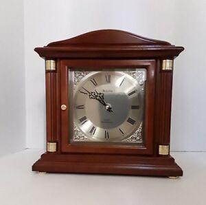 Bulova mantel clock chimes