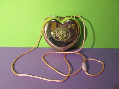 Acquista A Buon Mercato Polly Pocket Mini ♥ Cuore D'oro Borsa ♥ Polly's Party Purse ♥ 1989 ♥ ♥ Rar-mostra Il Titolo Originale Sapore Fragrante (In)