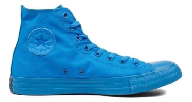 converse all star alte azzurre