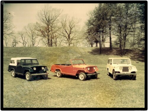 Jeep New Metal Sign Willys Park in Toledo OH Jeepster Commando 1966 Press Shot