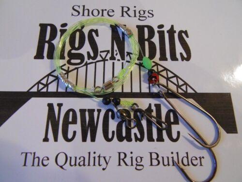 registres Flatty Rigs Qualité Shore Rigs Pêche en mer Rigs x 30 POULIES pennels