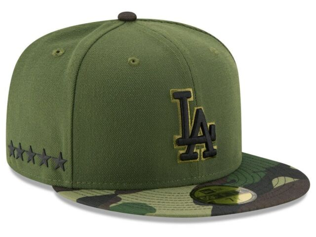 huge selection of 21fce 4bfd8 ... new zealand los angeles dodgers adult new era 59fifty 2017 memorial day  fitted hat sz 7