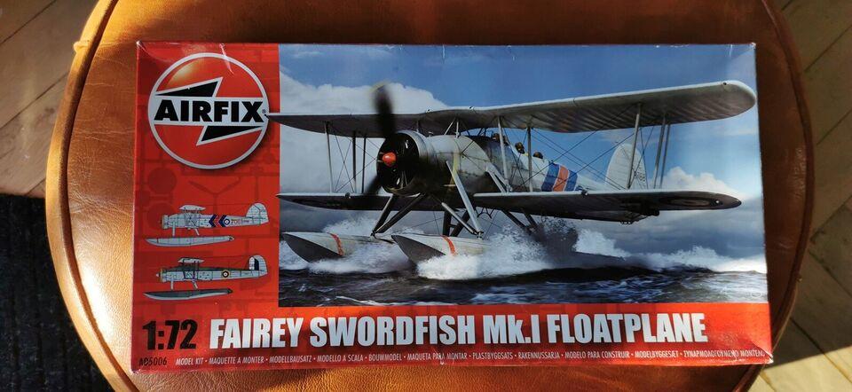 Modelfly, Airfix Fairey Swordfish MKI, skala 1:72