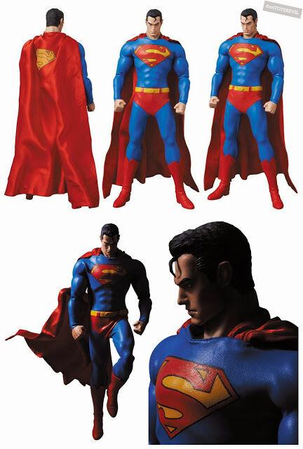 Superman Real Action Hero RAH 1:6 1:6 1:6 Scale AF by Medicom From Jim Lee's Batman Hush 6565c2