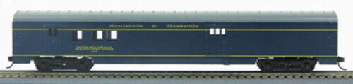 1-920Q HO 72 Ft Smoothside Passenger Railway Post Office Louisville /& Nashville