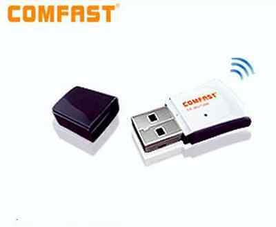 Receptor WIFI N por USB para portatil Windows 8 Win 10 Comfast Chip RT5370