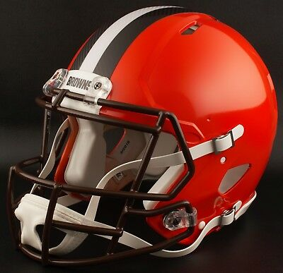 50cd0cbb BAKER MAYFIELD Edition CLEVELAND BROWNS Riddell REPLICA Football Helmet NFL  | eBay