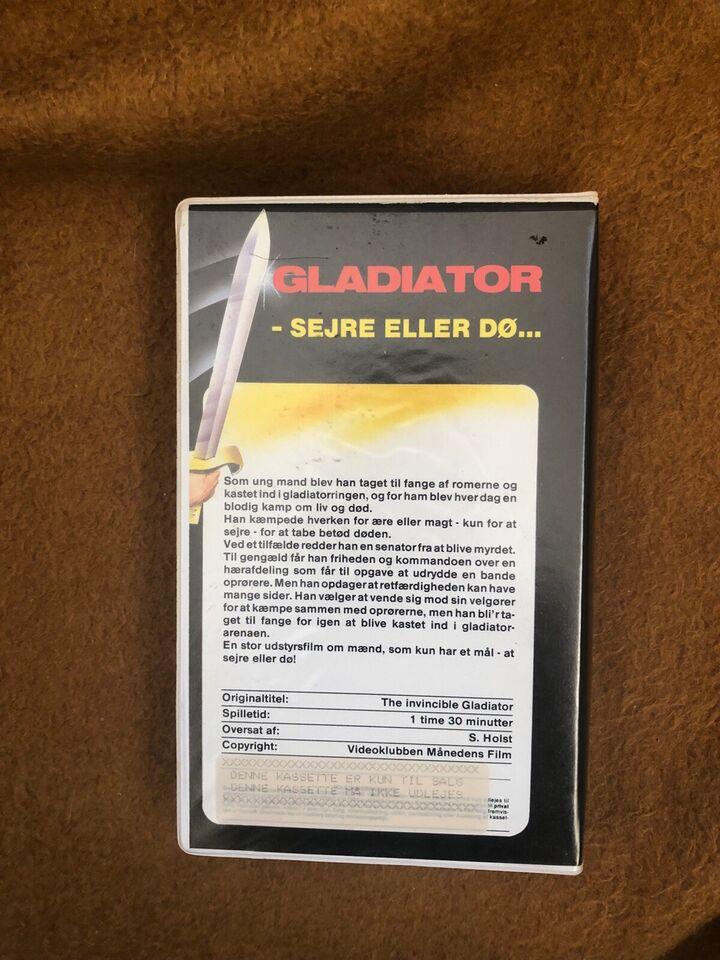 Anden genre, Gladiator sejre eller dø