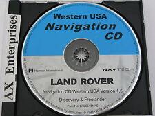 Discovery Freelander Navigation CD LRL0645NAS Map © 2003 Edition 2004 Western US